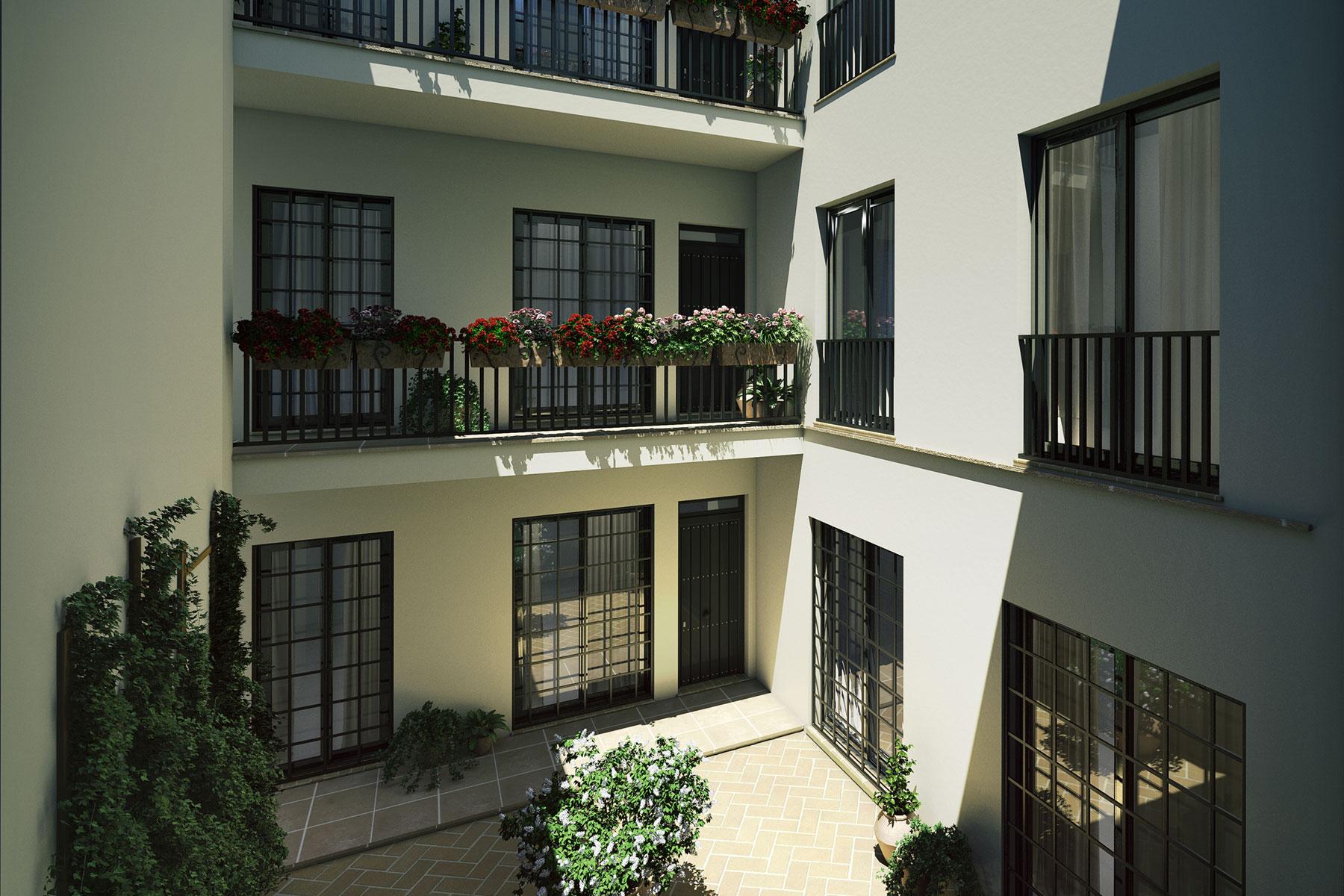 Edificio Almirante, Sevilla, patio interior