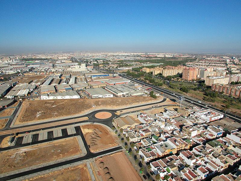Captación suelos urbanos en Sevilla